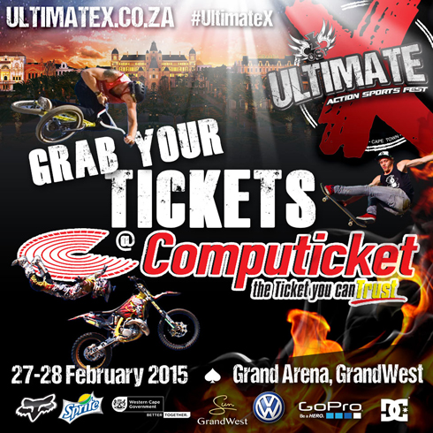 ultimate x � africa�s first indoor extreme sport showdown
