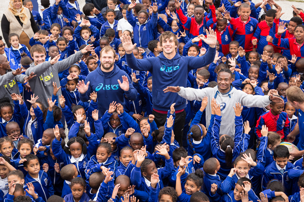 8185337b376 ASICS Continues Tag Rugby® Adopt-a-School Programme