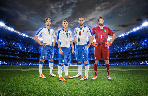 The Italian Football Association (FIGC) and PUMA today revealed the new  away kit for all national men s 0d3fd39146