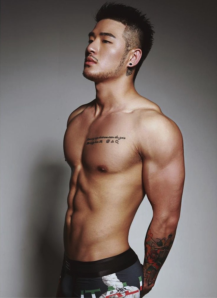 Chinese hot hunk