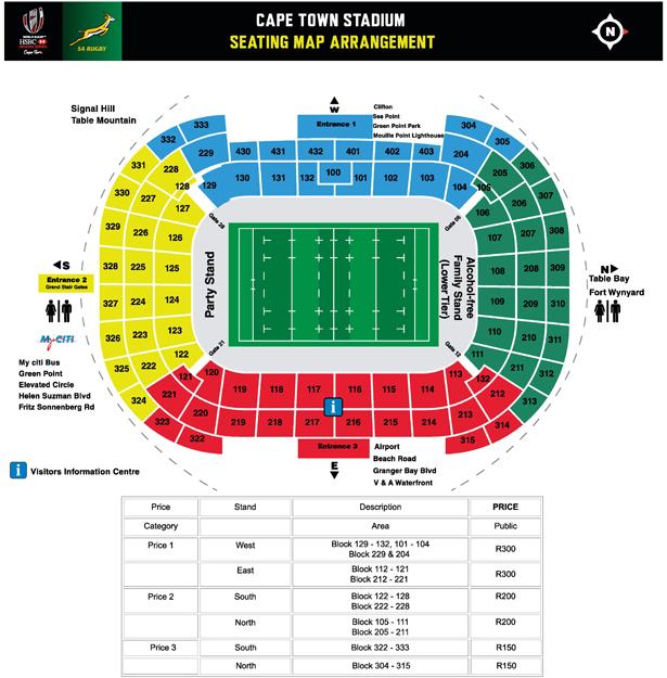 Emirates Stadium Seats